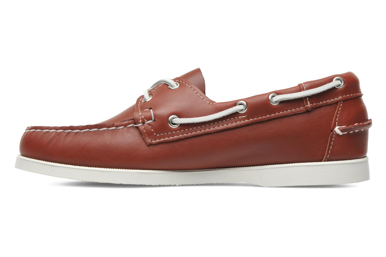Snörade skor Sebago Docksides M Röd bild från baksidan
