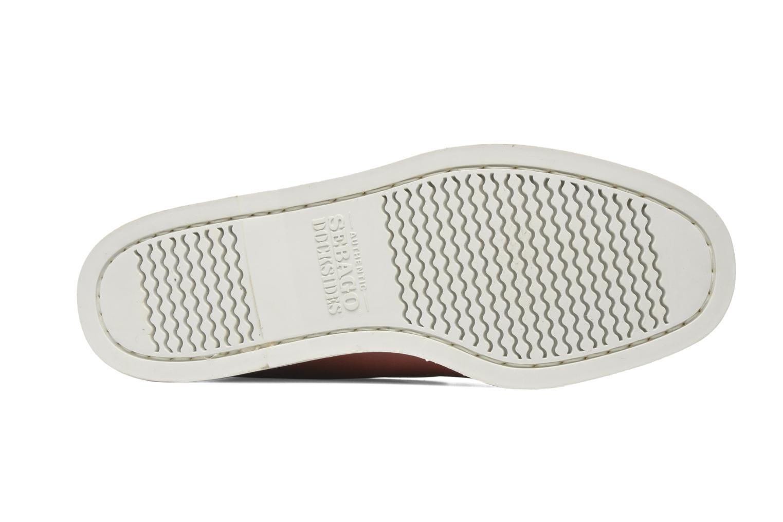 Snörade skor Sebago Docksides M Röd bild från ovan