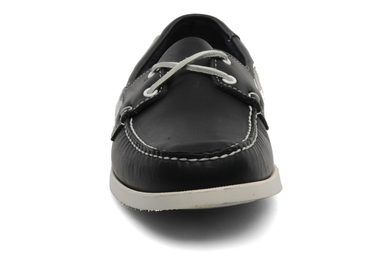 Zapatos con cordones Sebago Docksides M Azul vista del modelo