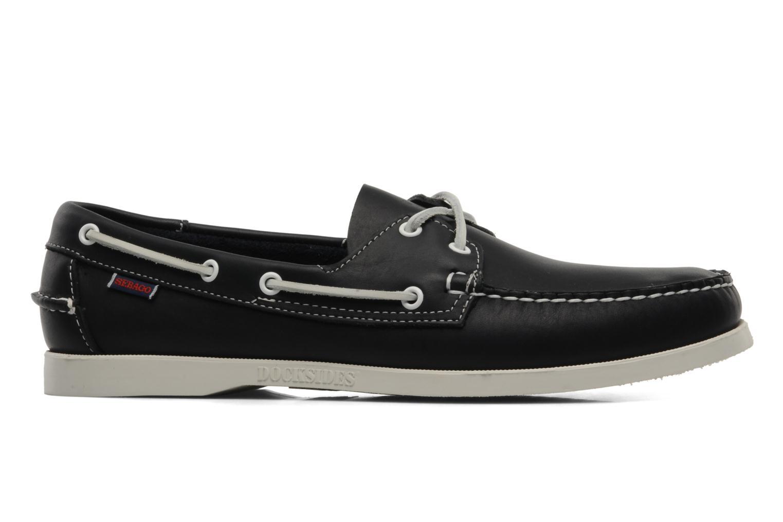 Lace-up shoes Sebago Docksides M Blue back view