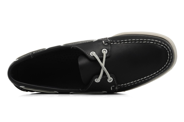 Zapatos con cordones Sebago Docksides M Azul vista lateral izquierda