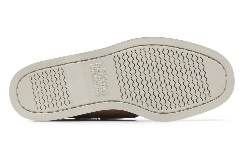 Chaussures à lacets Sebago Docksides M Marron vue haut