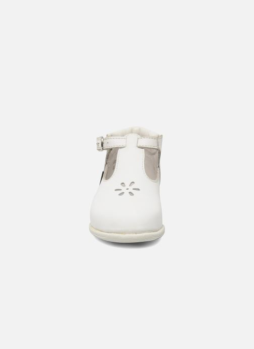 Summer boots Aster Odjumbo White model view