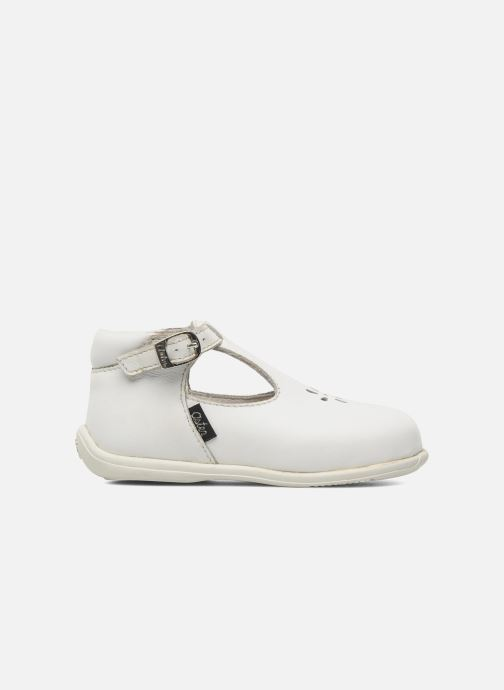 Summer boots Aster Odjumbo White back view