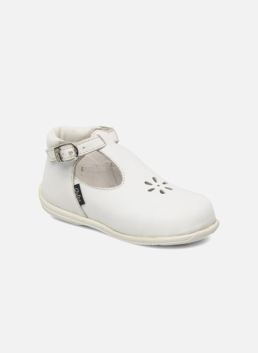 Summer boots Aster Odjumbo White detailed view/ Pair view