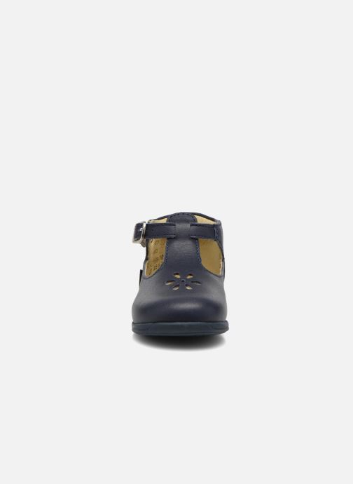 Bottines d'été Aster Odjumbo Bleu vue portées chaussures