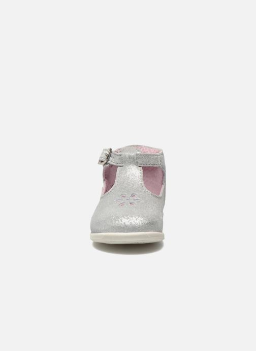 Bottines d'été Aster Odjumbo Argent vue portées chaussures