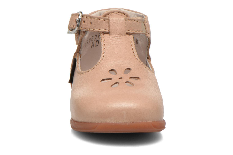 Bottines d'été Aster Odjumbo Beige vue portées chaussures