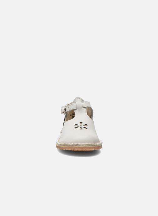 Bottines d'été Aster Bimbo . Blanc vue portées chaussures