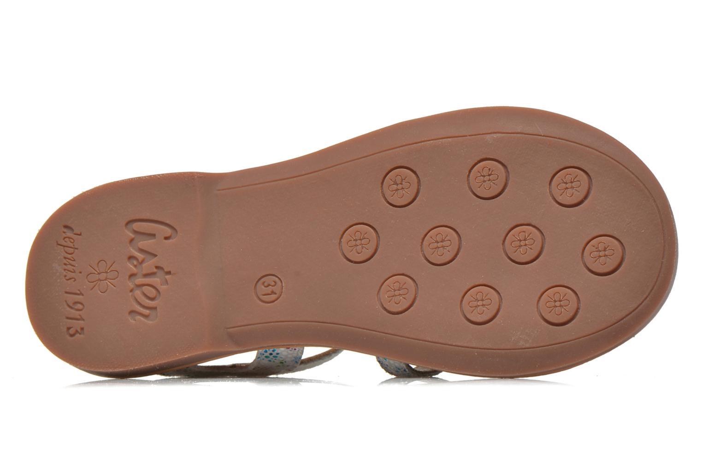 Sandales et nu-pieds Aster Vibride Blanc vue haut