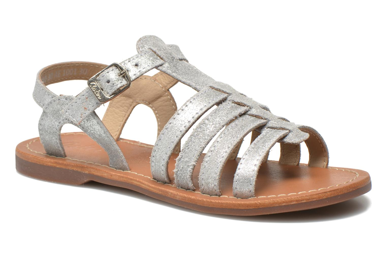 Sandaler Aster Vibride Silver detaljerad bild på paret