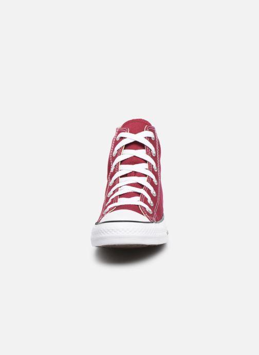 Sneaker Converse Chuck Taylor All Star Hi W weinrot schuhe getragen