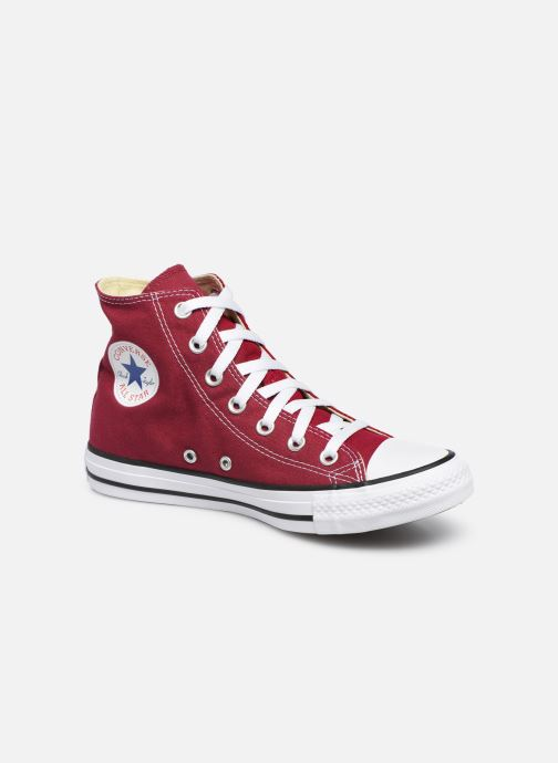Trainers Converse Chuck Taylor All Star Seasonal Hi Burgundy detailed view/ Pair view