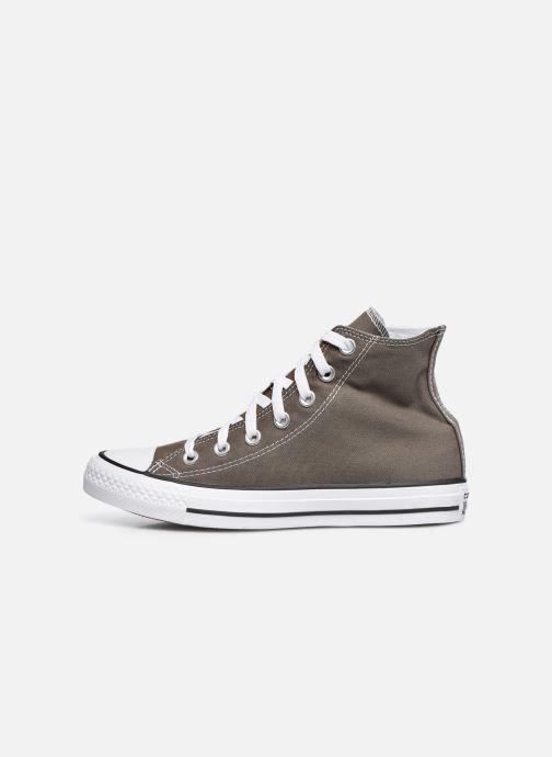 Sneaker Converse Chuck Taylor All Star Hi W grau ansicht von vorne