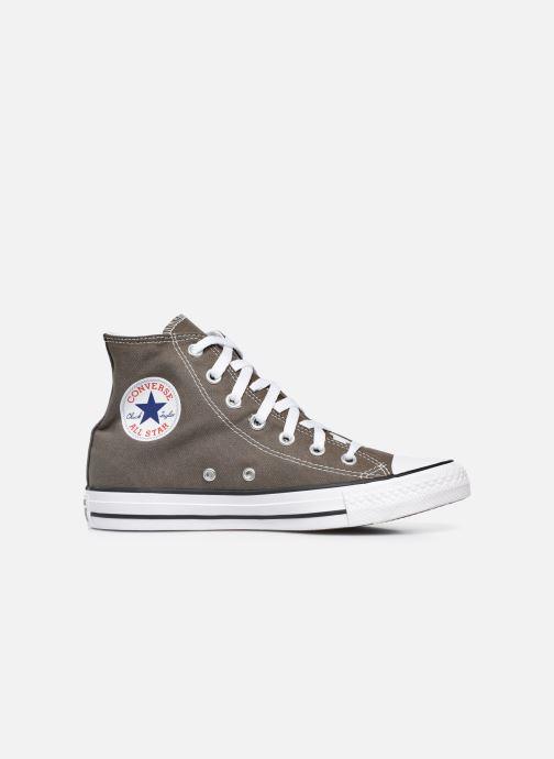 Sneaker Converse Chuck Taylor All Star Hi W grau ansicht von hinten
