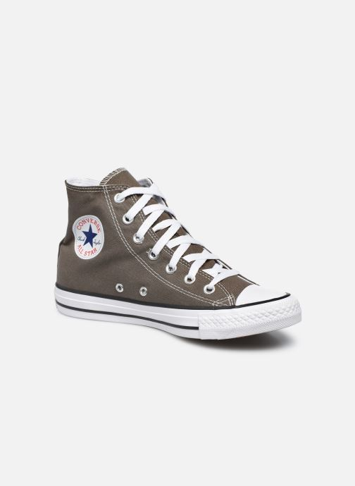 Baskets Converse Chuck Taylor All Star Hi W Gris vue détail/paire