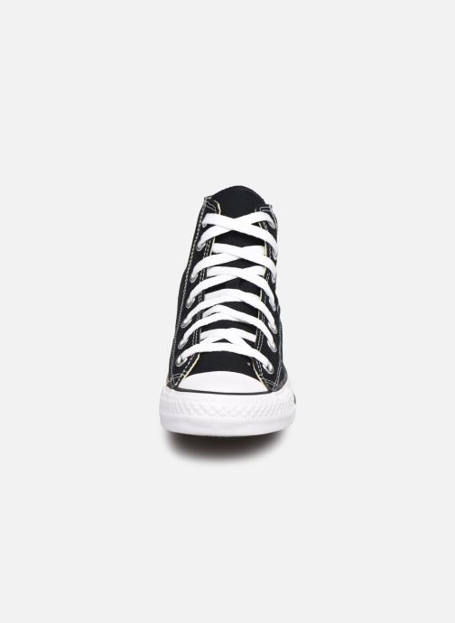 Sneaker Converse Chuck Taylor All Star Hi W schwarz schuhe getragen