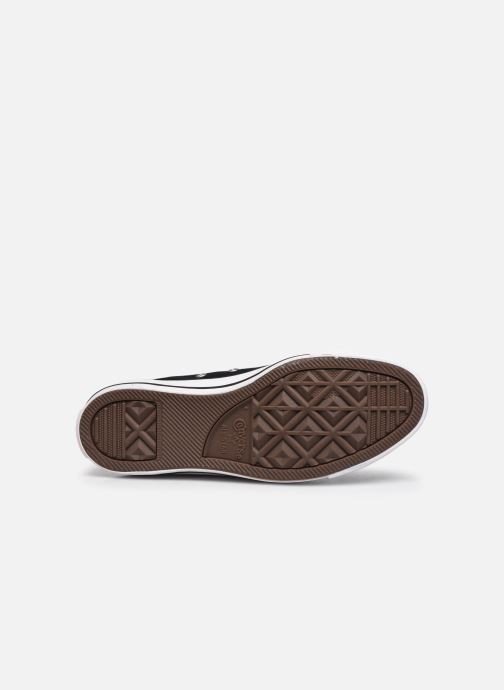 Sneaker Converse Chuck Taylor All Star Hi W schwarz ansicht von oben