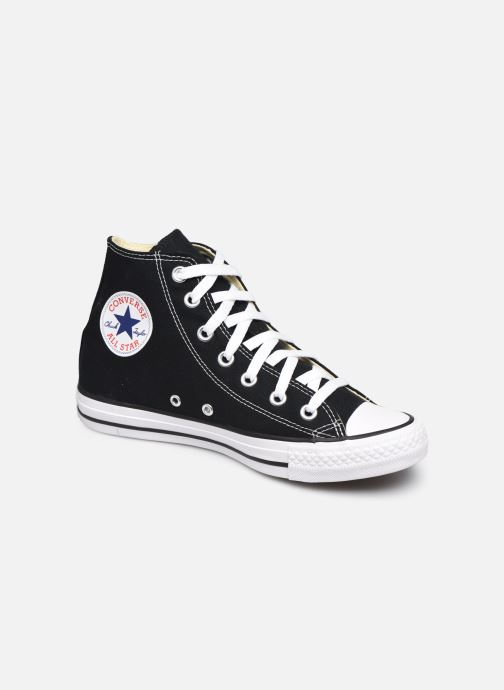 Deportivas Converse Chuck Taylor All Star Hi W Negro vista de detalle / par