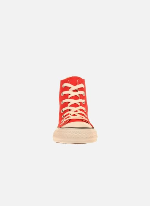 Baskets Converse Chuck Taylor All Star Hi W Rouge vue portées chaussures