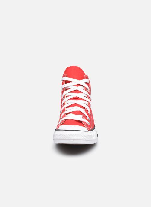 Sneakers Converse Chuck Taylor All Star Hi W Rosso modello indossato