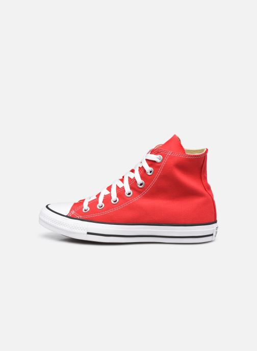 Baskets Converse Chuck Taylor All Star Hi W Rouge vue face