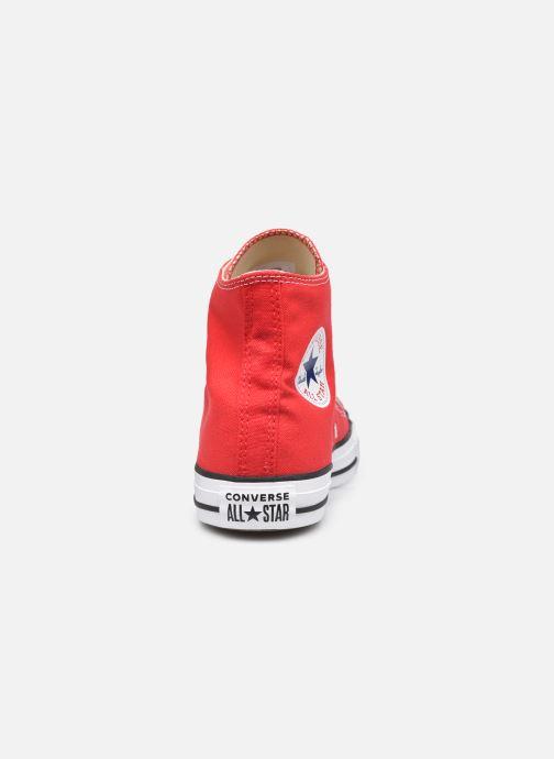 Sneaker Converse Chuck Taylor All Star Hi W rot ansicht von rechts