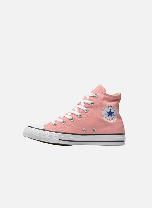 Baskets Converse Chuck Taylor All Star Hi W Rose vue face