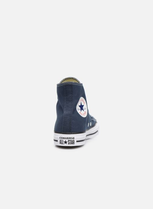 Trainers Converse Chuck Taylor All Star Seasonal Hi Blue view from the right