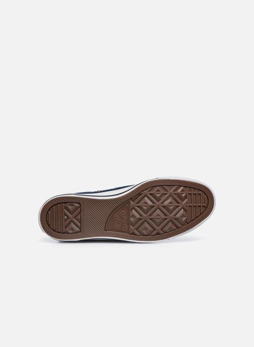 Sneakers Converse Chuck Taylor All Star Hi W Azzurro immagine dall'alto