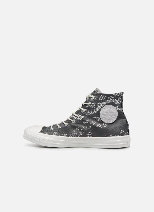 Sneakers Converse Chuck Taylor All Star Hi W Zwart voorkant