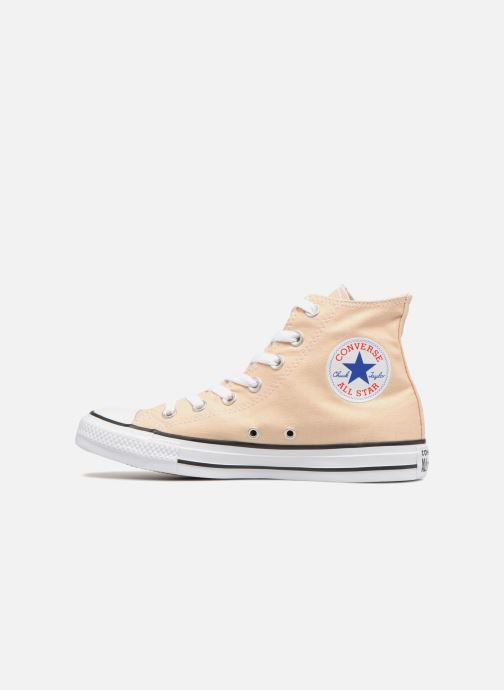 Baskets Converse Chuck Taylor All Star Hi W Jaune vue face