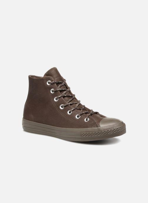 d3ad97ad Sneakers Converse Chuck Taylor All Star Hi W Brun detaljeret billede af  skoene