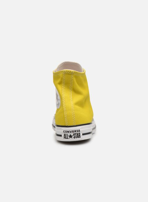 Trainers Converse Chuck Taylor All Star Seasonal Hi Yellow view from the right