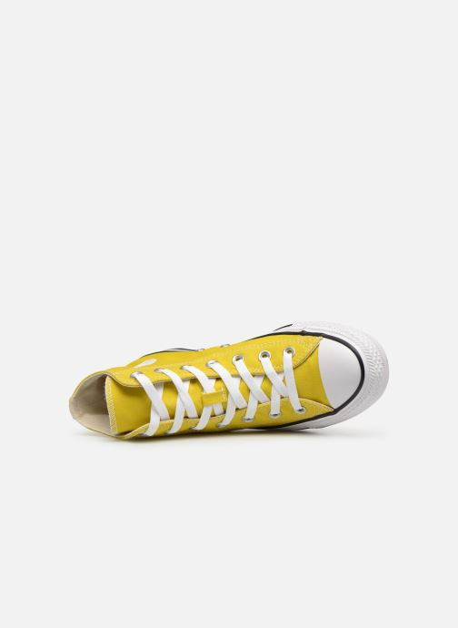 Trainers Converse Chuck Taylor All Star Seasonal Hi Yellow view from the left