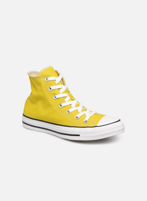 Trainers Converse Chuck Taylor All Star Seasonal Hi Yellow detailed view/ Pair view