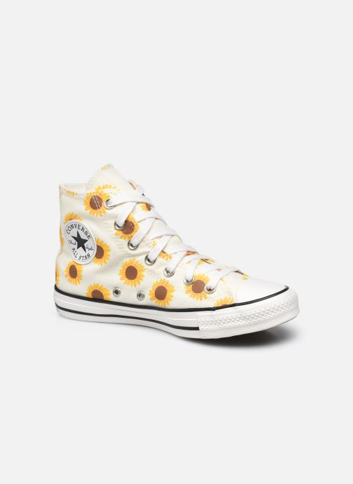 Sneaker Converse Chuck Taylor All Star Hi W beige detaillierte ansicht/modell