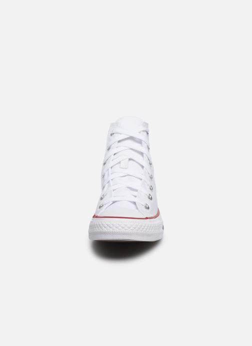 Sneakers Converse Chuck Taylor All Star Hi W Bianco modello indossato