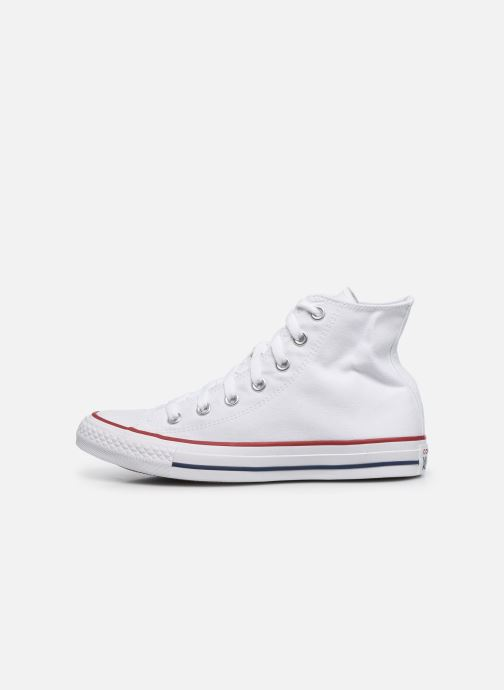 Sneakers Converse Chuck Taylor All Star Hi W Hvid se forfra