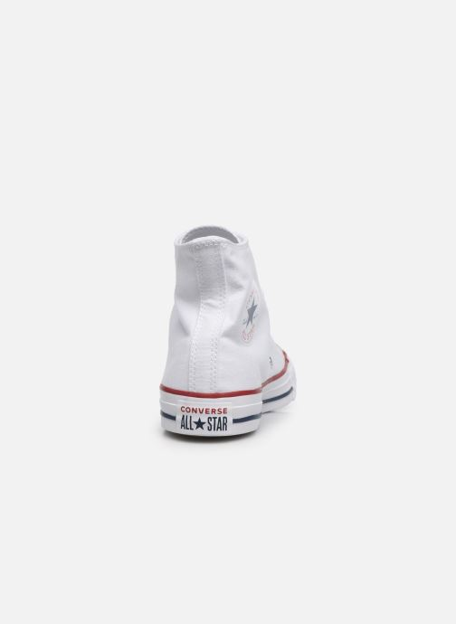 Sneakers Converse Chuck Taylor All Star Hi W Bianco immagine destra