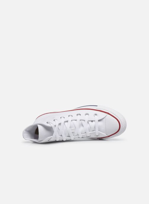 Trainers Converse Chuck Taylor All Star Seasonal Hi White view from the left