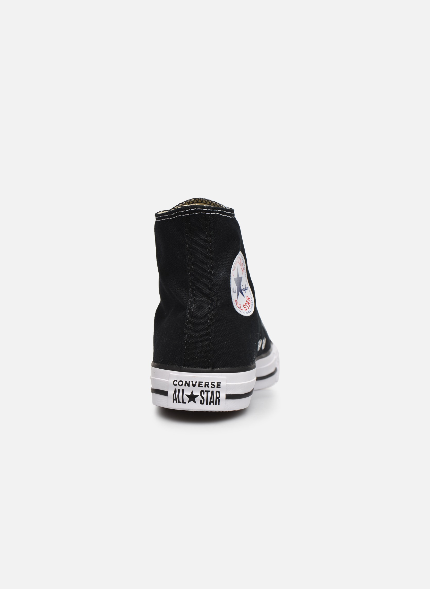Sneakers Converse Chuck Taylor All Star Hi W Zwart rechts