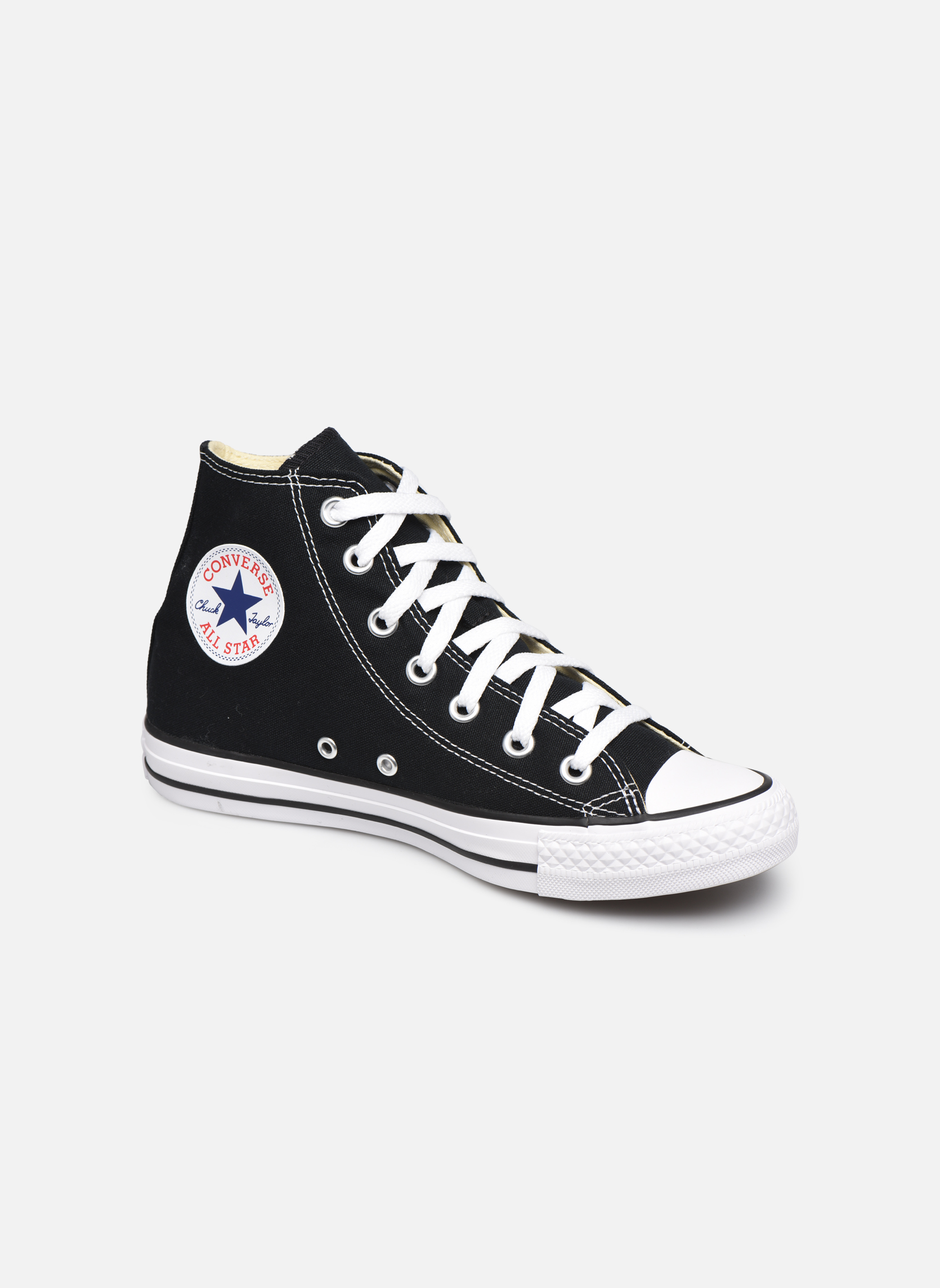 Baskets Converse Chuck Taylor All Star Hi W Noir vue détail/paire