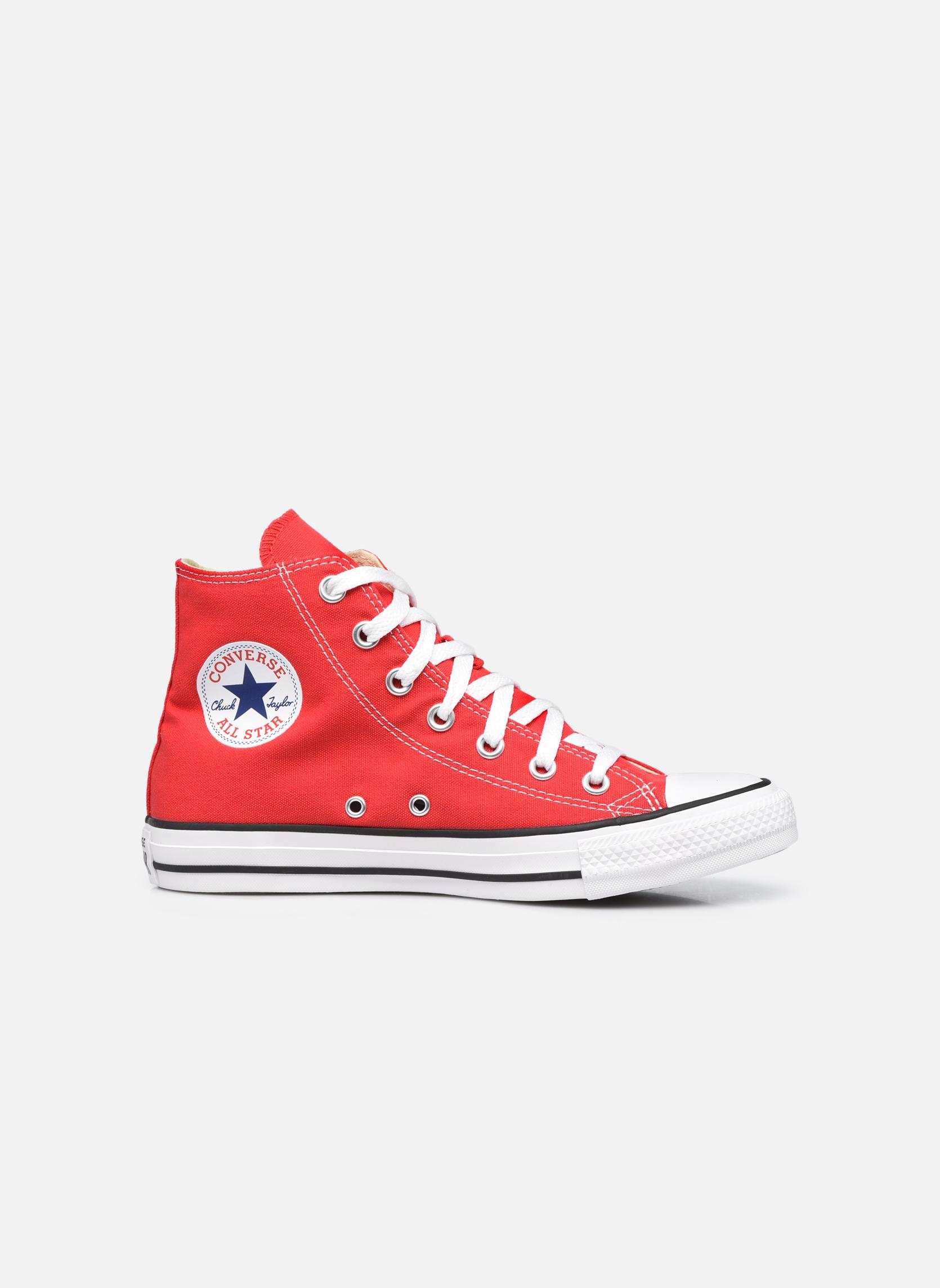 Sneaker Converse Chuck Taylor All Star Hi W rot ansicht von hinten