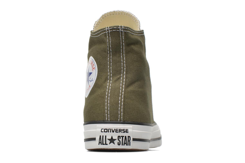 Sneakers Converse Chuck Taylor All Star Hi W Grøn Se fra højre