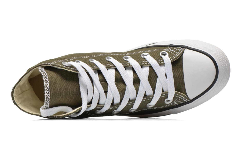 Sneakers Converse Chuck Taylor All Star Hi W Grøn se fra venstre
