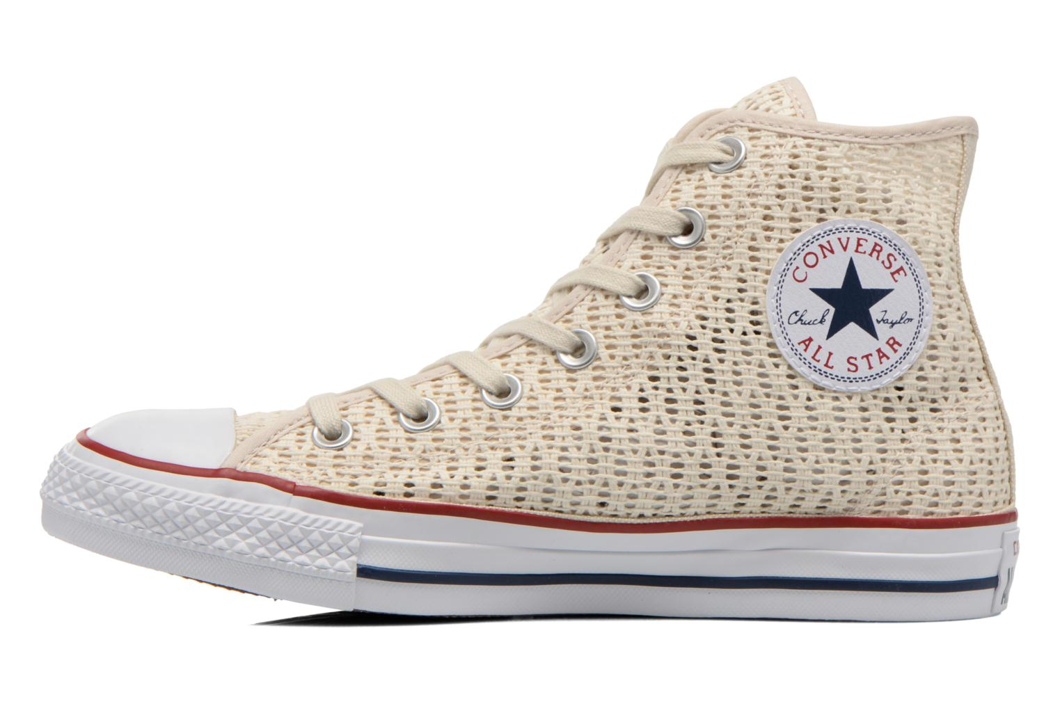 Sneakers Converse Chuck Taylor All Star Hi W Beige voorkant