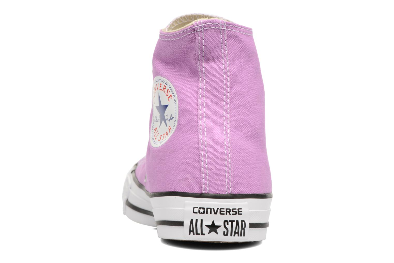 Sneakers Converse Chuck Taylor All Star Hi W Paars rechts