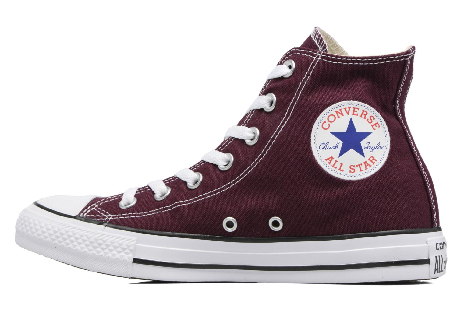 Sneakers Converse Chuck Taylor All Star Hi W Bordeaux se forfra