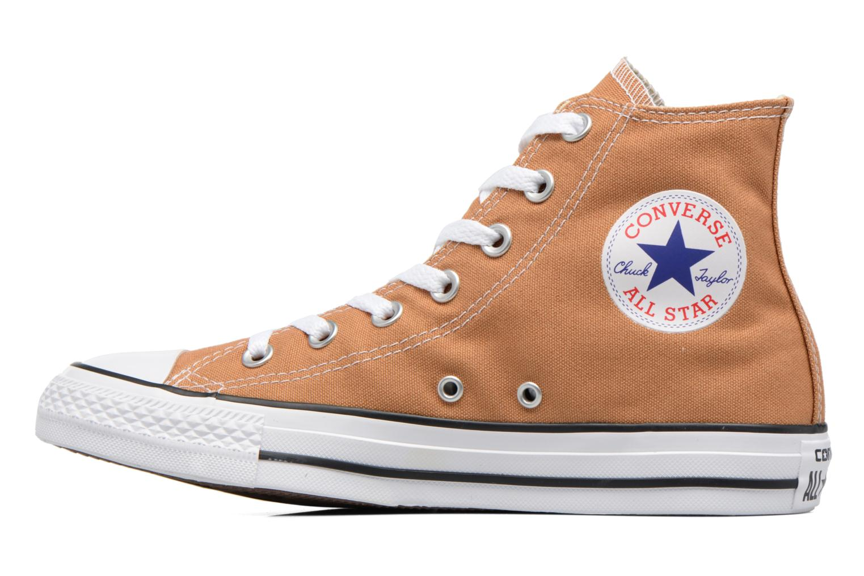 Sneakers Converse Chuck Taylor All Star Hi W Bruin voorkant